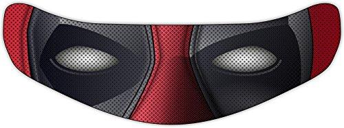 Deadpool Helmet Visor Sticker Motorcycle Shield Decal Tint Eyes for HJC IS-17