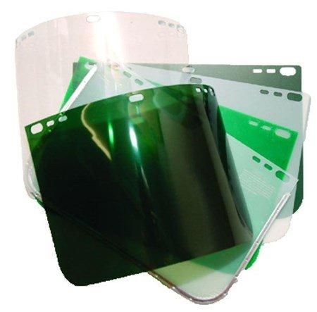 8042 Dark Green Acetate FaceshieldVisor