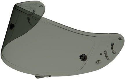 SHOEI X12RF1100QWEST CW-1 FACE SHIELDVISOR DARK SMOKE wTEAR OFF POSTS