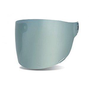 Bell Bullitt Flat Face Shield SILVER IRIDIUM