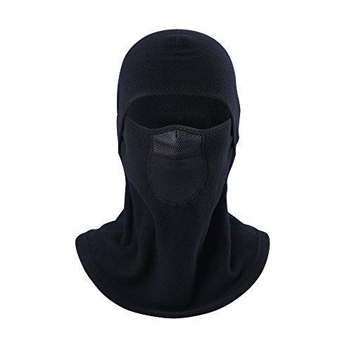 ICESNAKE Winter Windproof Fleece Thermal Full Face Motorcycle Ski Mask Balaclava Windproof Warm Mask Face Shield 001