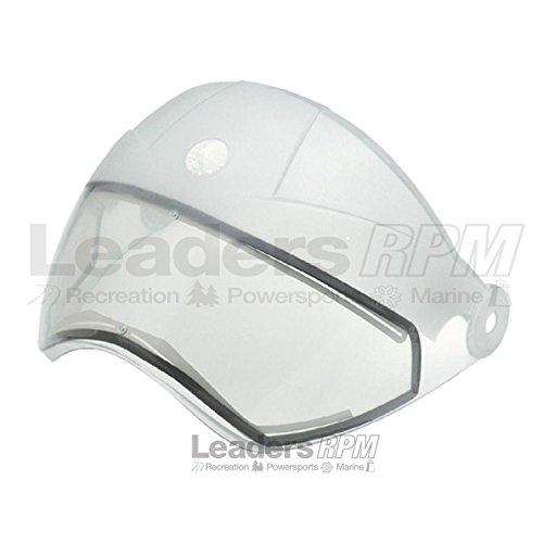 Ski-Doo New BV2S Helmet Electric Heated Face Shield Visor Dual Lens 4482400000
