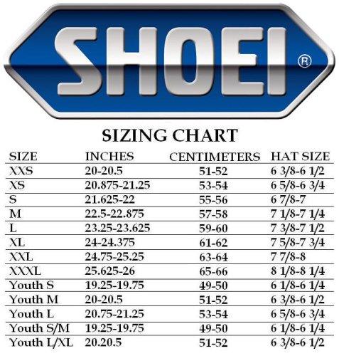 Shoei Replacement Cheek Pads For VFX-DT XXSExtra Small 2XSXS 03-771