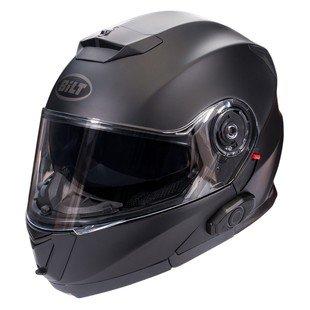 Bilt Techno 20 Sena Bluetooth Evolution Modular Helmet - XL - Matte Black