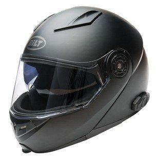 Bilt Techno 20 Sena Bluetooth Modular Helmet - LG - Matte Black