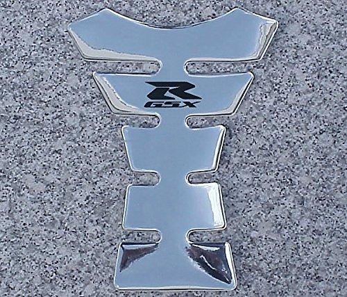 i5 Suzuki GSXR 600 750 1000 1100 CHROME TANK PAD