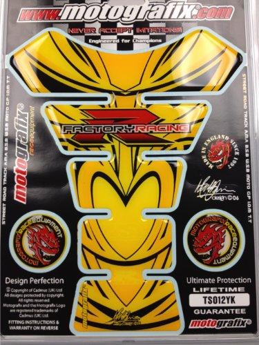 Suzuki GSXR 1000 750 600 Hayabusa Yellow Motorcycle Tank pad