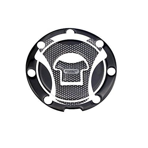 PRO-KODASKIN 3D Printing Gas Cap Fuel Tank Pad Sticker Protection for HONDA CBF1000 CB1000F Grey Color Gas Cap