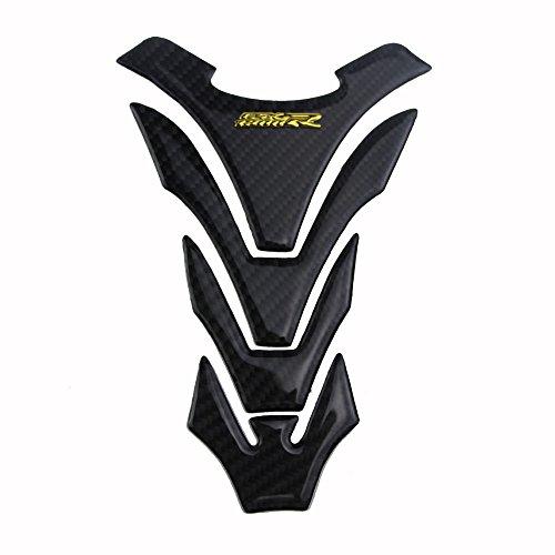 PRO-KODASKIN Motorcycle 3D Real Carbon Tank Pad Sticker Decal for SUZUKI GSXR1300 GSX1300R Hayabusa Gold