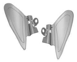Kuryakyn 7181 Saddle Shield Heat Deflector
