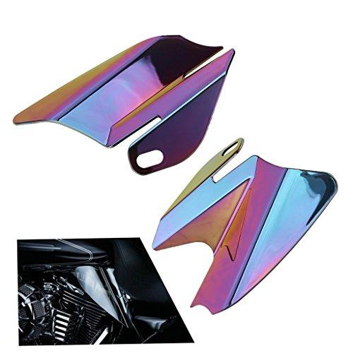 Saddle Shield Heat Deflector For Harley Touring Electra Glide 2008 Iridium