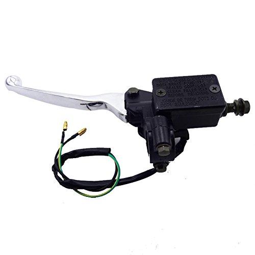 TC-Motor Left Hydraulic Master Cylinder Handle Brake Lever For 50cc 70cc 90cc 110cc 125cc 150cc Chinese Pit Dirt Bike Quad ATV