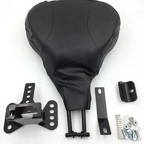 HTT Motorcycle Black Middle Part Backrest Sissy Bar with pad For 1997 1998 1999 2000 2001 2002 2003 2004 2005 2006 Harley Davidson FLHT- Electra Glide Standard