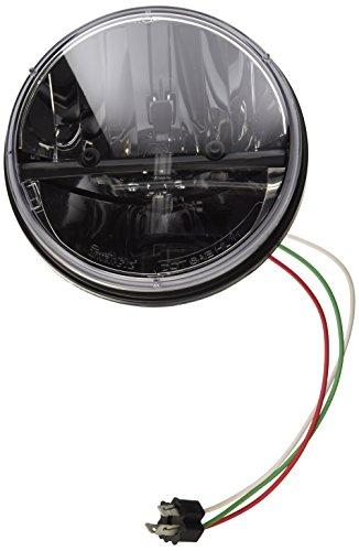 Kuryakyn Phase 7 High Intensity 7 LED Headlamp Harley FL Metric 2249