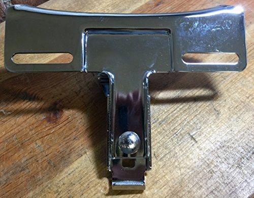 59983-75 Harley Davidson Chrome License Plate Bracket Sportster Superglide FXR