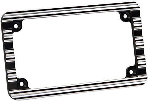 Arlen Ness 10-Gauge Chrome License Plate Frame
