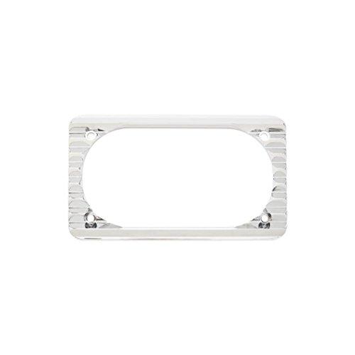 Arlen Ness 12-143 Chrome License Plate Frame