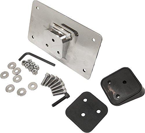 HardDrive 33-606 Chrome License Plate Bracket Kit Fender Mount