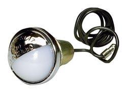 Peterson Manufacturing V432 Chrome License PlateUtility Light