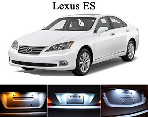 1992 - 2013 Lexus ES300 ES330 ES350 Xenon White LED Lights Bulbs for License Plate  Tag 2 pieces