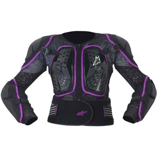 Alpinestars Stella Bionic 2 Jacket Womens Protector Sports Bike Motorcycle Body Armor - Blackviolet  X-large