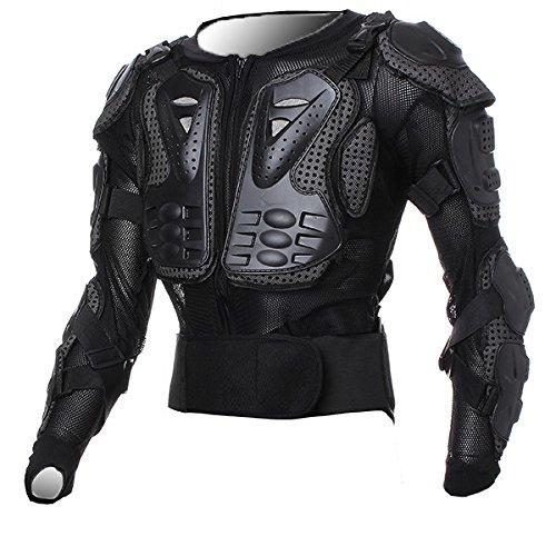 Motorstar Motorcycle Accessories Racing Enduro Body Armor Spine Chest Protective Gear Motocross Black Protector