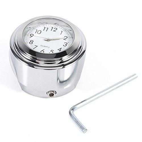Motorcycle Handlebar Mount Clock78 1 Waterproof Handlebar Dial Clock Watch for Harley Cruiser Chopper