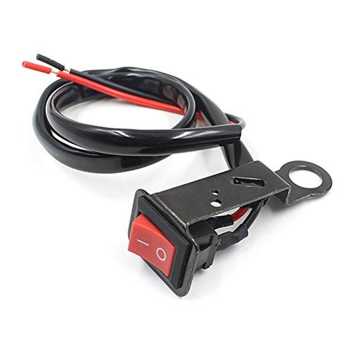 WINOMO Motorcycle Handlebar Mount Light Switch