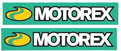 Motorex Racing Decals Stickers Set of 2 Dirt Bike Motorcycles Supercross Motocross ATV