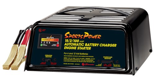 Schumacher SE-2151MA SportsPower 215100 Amp Automatic Battery Charger and Engine Starter