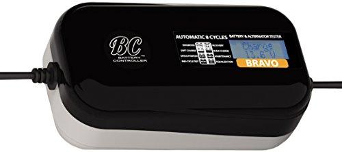 BC BRAVO 1500 US - 12V 15 Amp - Digital Supersafe 8-Step Battery Charger  Battery Alternator Tester - Multilanguage Display - US Plug