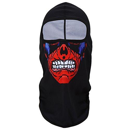 Balaclava Ski Full Face Mask Balaclava Clown Mask Full Face Motorcycle Bicycle Bike Skull Mask Tactical Mask Snowboard Headgear Outdoor Windproof Hunting Ski Mask Helmet3