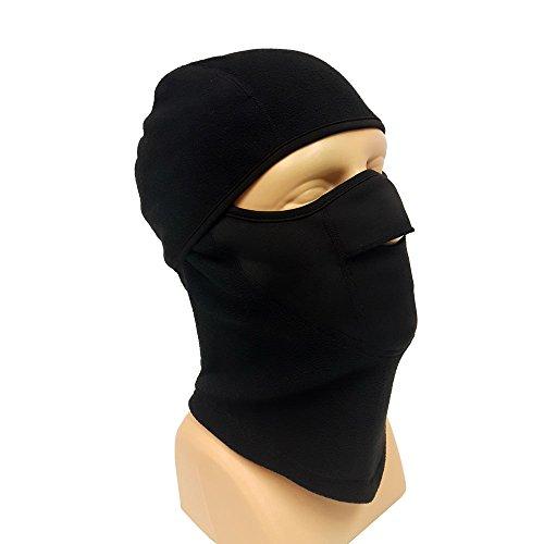 Motorcycle balaclava face mask Black