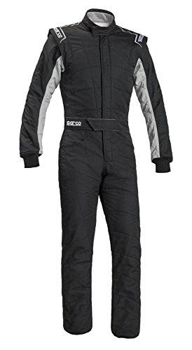 Sparco Mens Sprint Suit BlackGrey X-Large