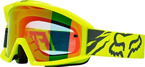 Fox Racing Main Race Adult Moto Motorcycle Goggles Eyewear - Yellow  No Size