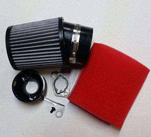 HDM GX160 GX200 Clone Honda Go Kart Racing Air filter Adapter kit foam prefilter