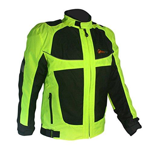 Jade Mens Outdoor Sports Motorcycle Cycling Auto Go Karts Racing Jacket Coat