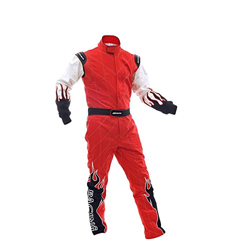 jxhracing RB-C06032 One-piece Auto GO Karts Racing Suit-XX Large