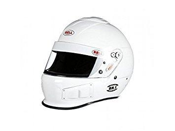 Bell Racing BR1 WHITE LARGE 60 SA2015 V15 BRUS HELMET