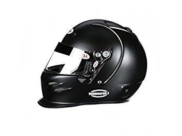 Bell Racing DOMINATOR2 MATTE BLACK 7 12 60 SA2015FIA8859 V15 BRUS HELMET