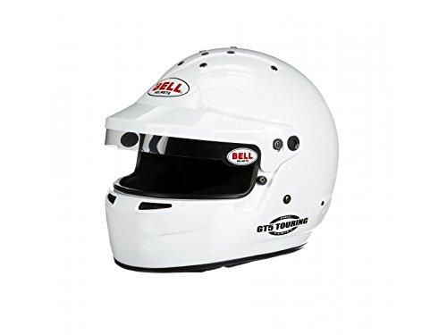 Bell Racing GT5 TOURING WHITE 7 12 60 SA2015FIA8859 V15 BRUS HELMET