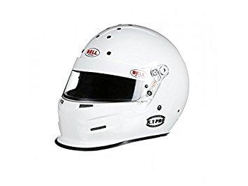 Bell Racing K1 PRO WHITE XLARGE 61 SA2015 V15 BRUS HELMET