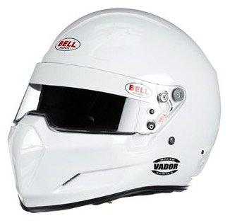 Bell Racing Mens Full Face Helmets Helmet Vador SA15 White Large