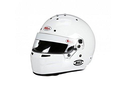 Bell Racing RS7 KART WHITE XL 61 K2015 V15 BRUSA HELMET
