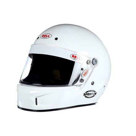 Bell Racing SPORT EV WHITE L 60 SA2015 V15 BRUS HELMET