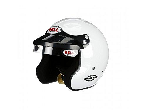 Bell Racing SPORT MAG WHITE X-LARGE 61 SA2015 V15 BRUS HELMET