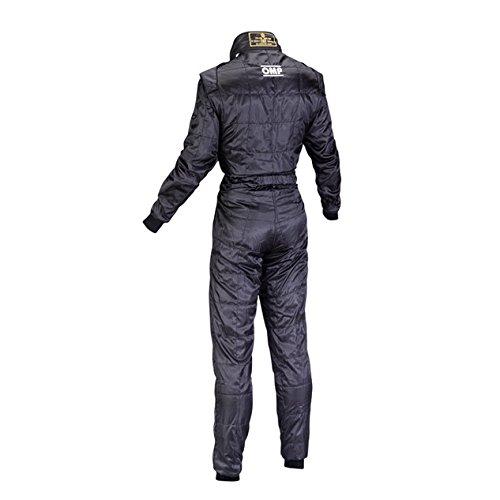 OMP KS-4 Kart Racing Suit KK01724071XL Size X-Large Black