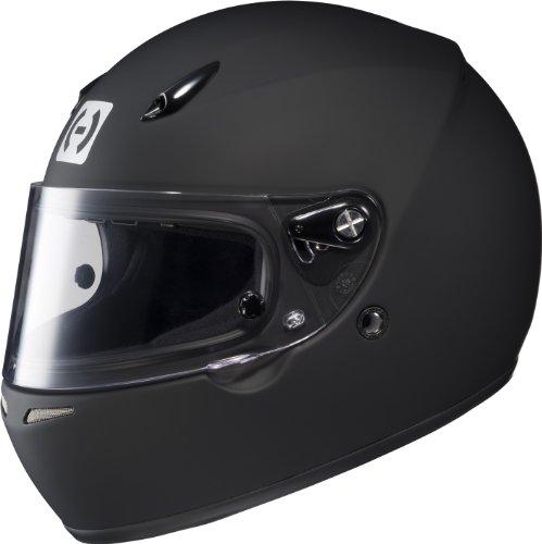 HJC Helmets 2BXS10 AR-10 II Rubbertone Black X-Small SA2010 Approved Auto Racing Helmet