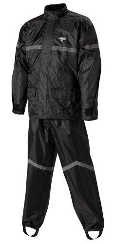 Nelson-rigg Stormrider Rain Suit (black/black, Large)