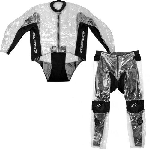 Alpinestars Racing Rain 2-Piece Motorcycle Jacket Pant Over Suit - Small